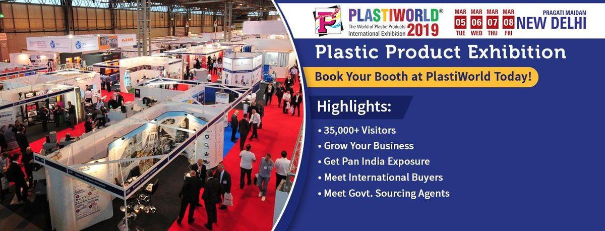 PlastiWorld International Exhibition 2019 At Pragati