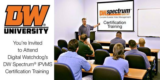 DW Spectrum IPVMS Certification Course - Beachwood