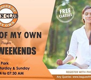 League Of My Own presents Yoga Weekends