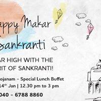 Sankranti Celebration - Special Andhara Bhojanam