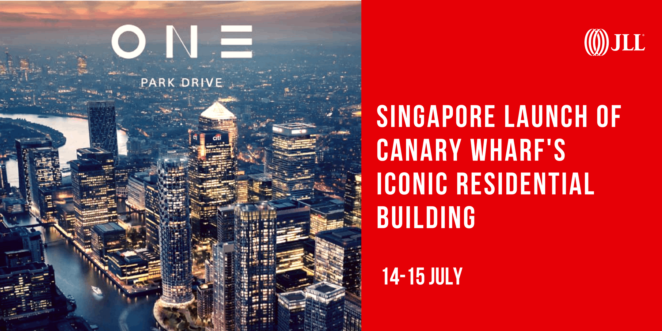 Singapore launch of Canary Wharfs iconic residential building