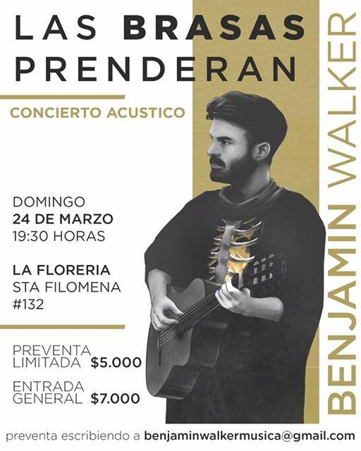 Benjamn WalkerConcierto Acstico en La Florera