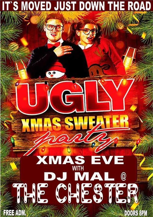 Christmas Eve Ugly Sweater Party