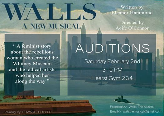 Walls The Musical - Auditions