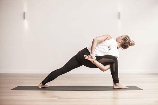 Vinyasa Yoga class with Aya