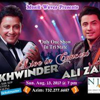 Sukhwinder &amp Ali Zafar Live in concert
