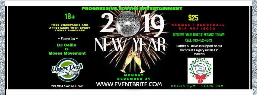 2019 UPPER DECK PUBLIC HOUSE NEW YEARS PARTY