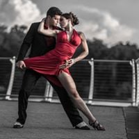 International Professionals Group meetup with Tango Performances