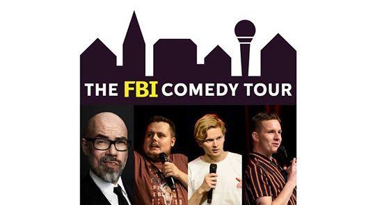 FBI Comedy Tour - Brian Mrk med gster  Skren