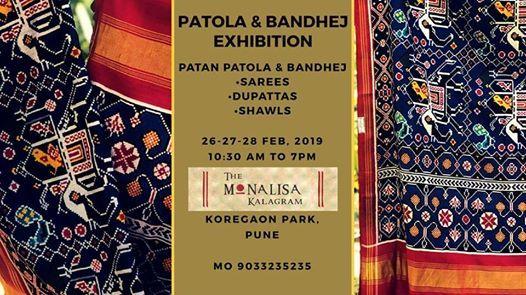 World Famous Patola & Bandhej Exhibition koregaon park