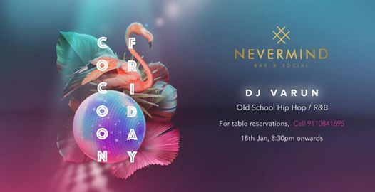Nevermind Presents Cocoon Friday