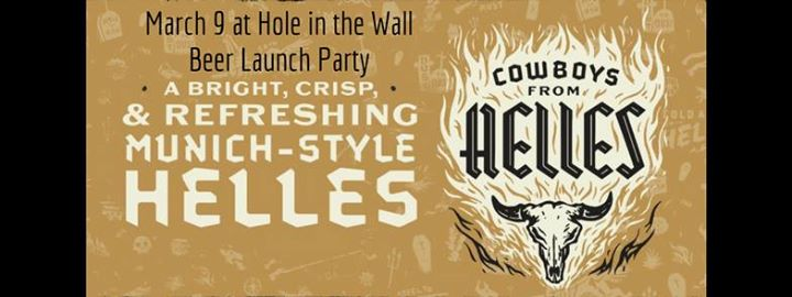 Independence Brewery Cowboys From Helles Launch Party