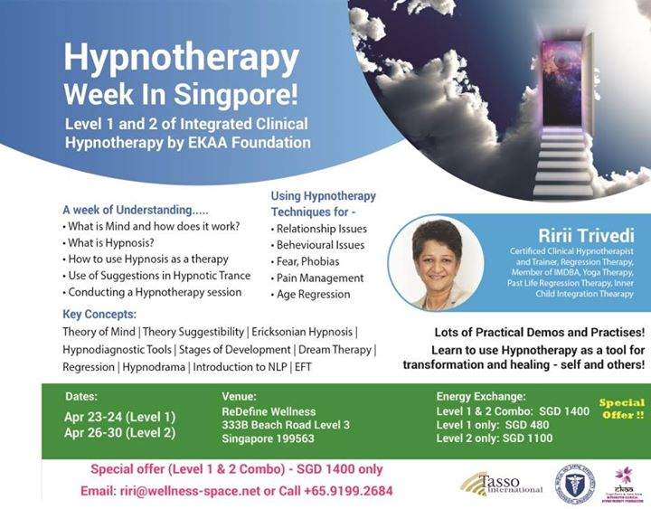 Hypnotherapy Week (EKAA) in Singapore