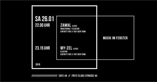 MUSIK IM Fenster mit Zamal & My-Zel