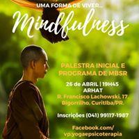 Palestra e programa de 8 semanas de Mindfulness