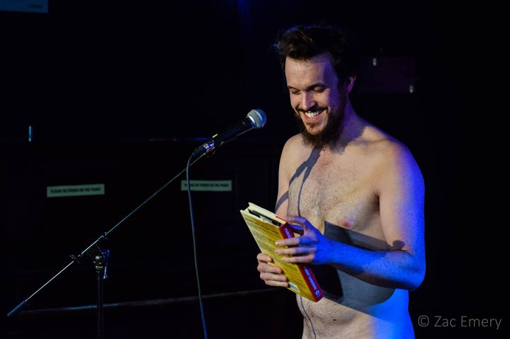 Naked Boys Reading First 2018 Installment