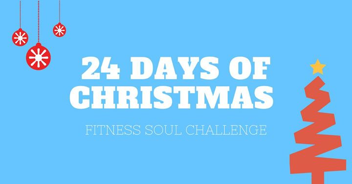 24 days of christmas fitness soul challenge at fitness soul edinburgh