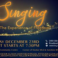 Singing - The experience of Freedom (Concert)