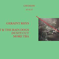Gwdihw presents Geraint Rhys