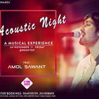 Acoustic Night with Amol Sawant - The Musical Experience