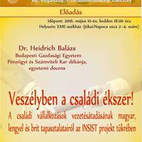 Heidrich Balzs Veszlyben a csaldi kszer