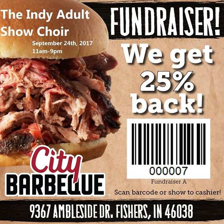 City BBQ Fundraiser and Performance