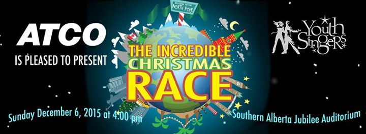 the incredible christmas race at southern alberta jubilee. Black Bedroom Furniture Sets. Home Design Ideas