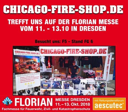 Chicago-Fire-Shop.de  Florian Messe in Dresden