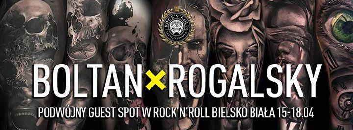 Boltan x Rogalsky 15-18.04 w RocknRoll Bielsko-Biaa