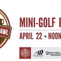 Depot District Mini-Golf Pub Crawl