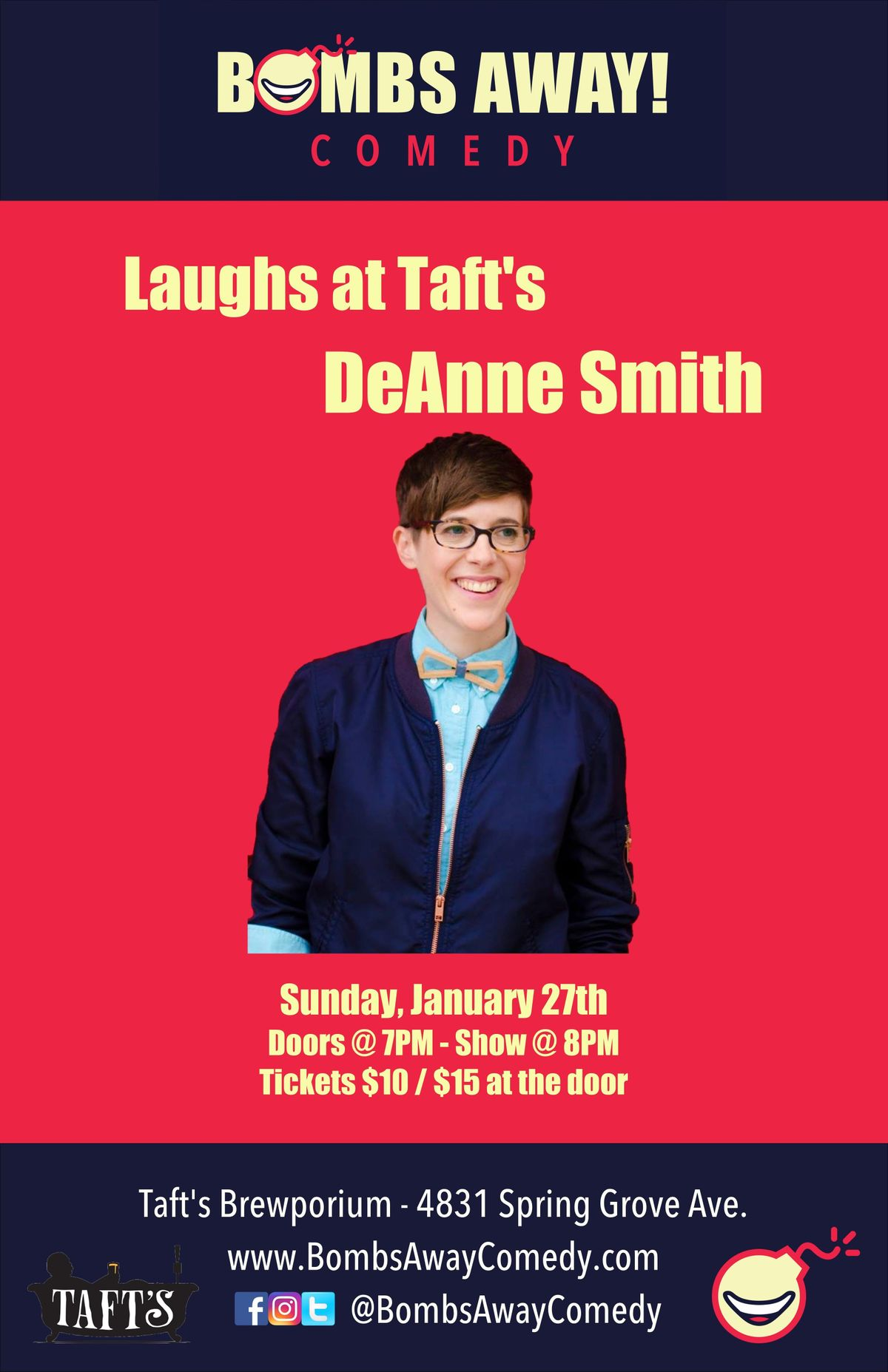 Laughs at Tafts w DeAnne Smith