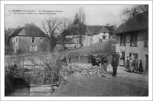 Visite extrieure du chteau du Gnral Donzelot  Mamirolle