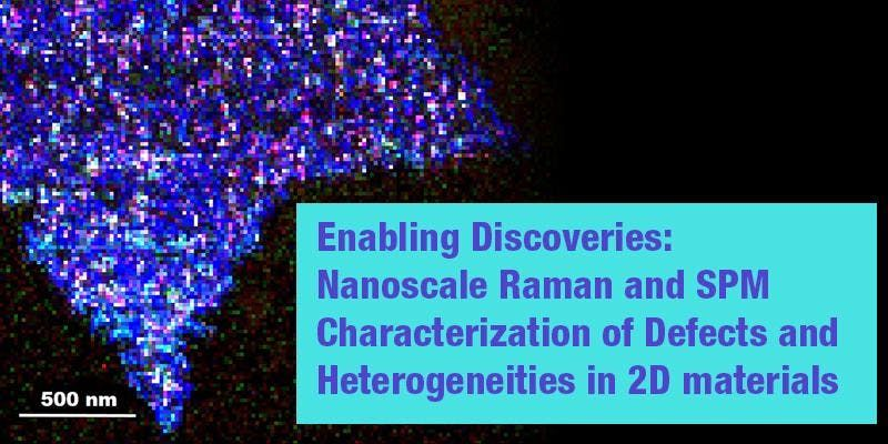 Enabling Discoveries NanoRaman and SPM of 2D materials