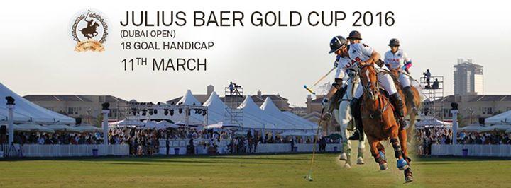 Julius Baer Gold Cup 2016 ( Dubai Open )