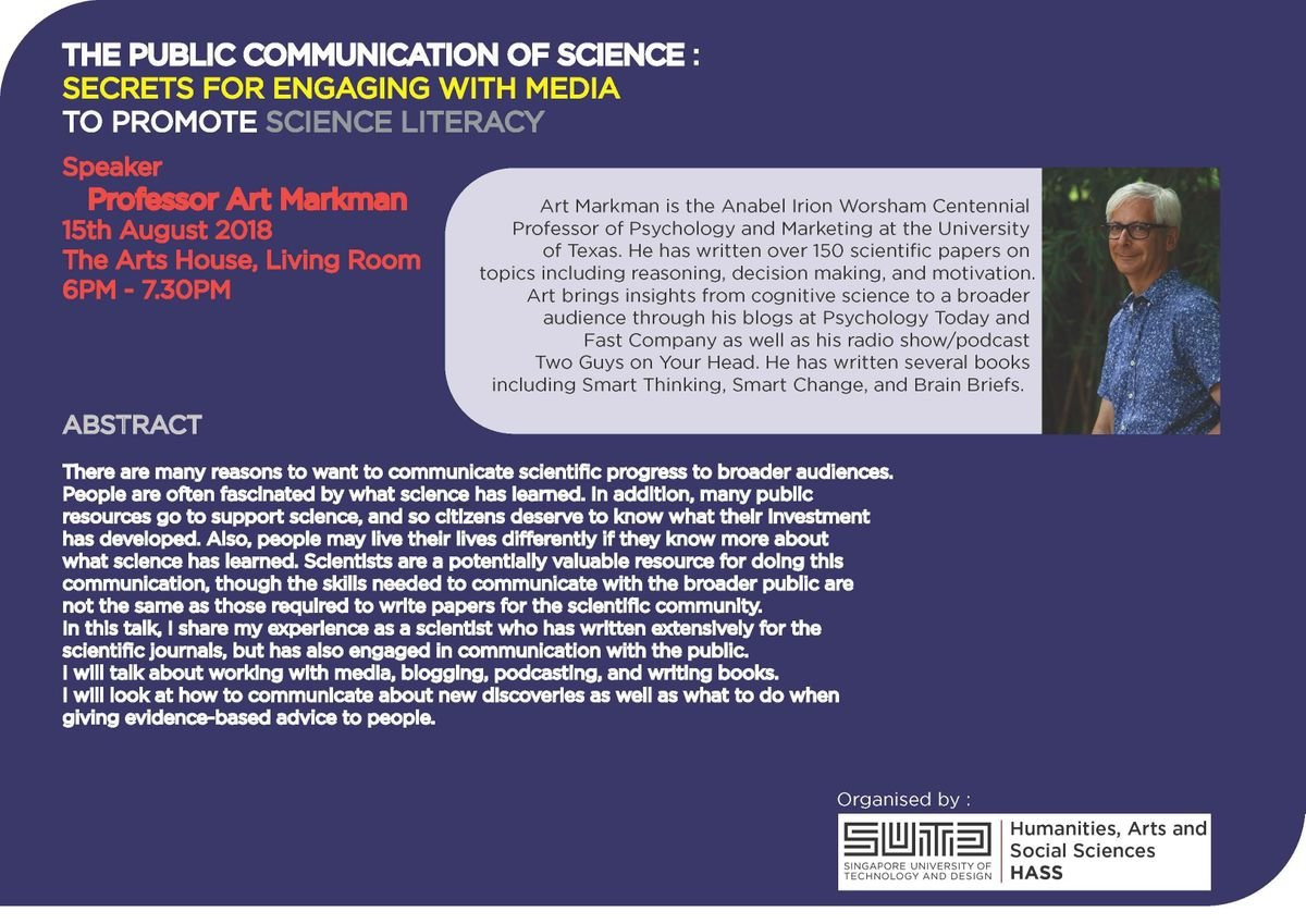 The Public Communication of Science Secrets for Engaging with Media to Promote Science Literacy