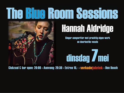 Hannah Aldridge Blue Room Sessions den BoschNL