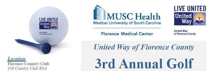 United Way Golf Fundraiser - MUSC Health Florence Medical