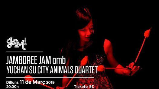 Jamboree Jam amb Yuhan Su City Animals Quartet