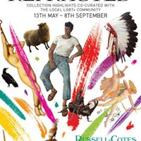 Free Entry Weekend to Russell-Cotes  Refracted Exhibition