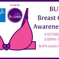BUPA Breast Cancer Awareness Event