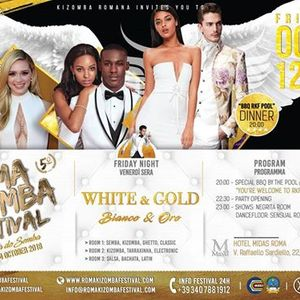 RMKF 2018 Friday Party  White and Gold
