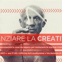 Finanziare la creativit  Seminario Gratuito