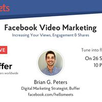 Facebook live with Buffer