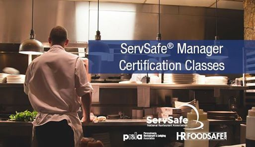 ServSafe Managers Food Safety Certification Pittsburgh