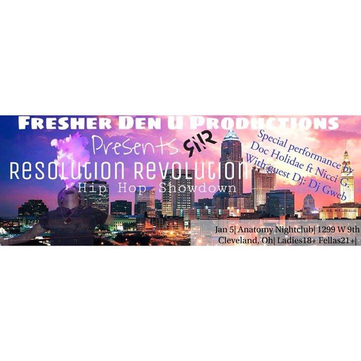 Resolution Revolution HipHop Showdown at ANATOMY Nightclub + ...