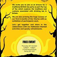 Tea Party and Halloween Fun