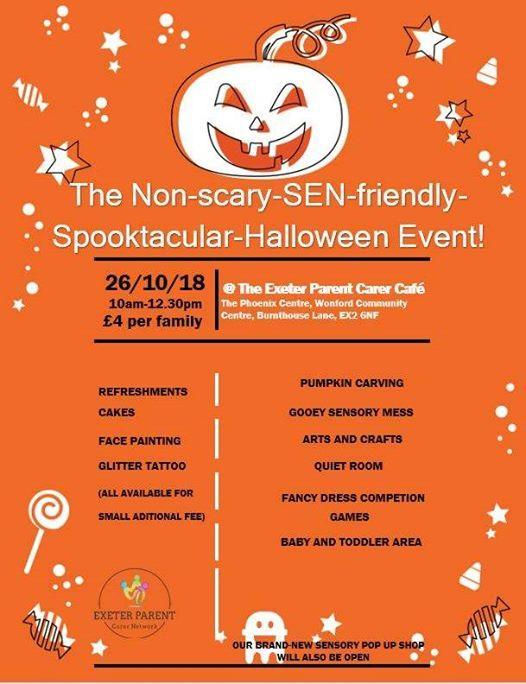 The Non-scary-SEN-friendly-spooktacular-Halloween event