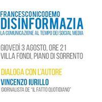 Disinformazia di Francesco Nicodemo - Piano di Sorrento
