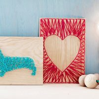 WPL Coffee &amp Craft String Art