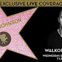 Dwayne Johnson Hollywood Walk of Fame